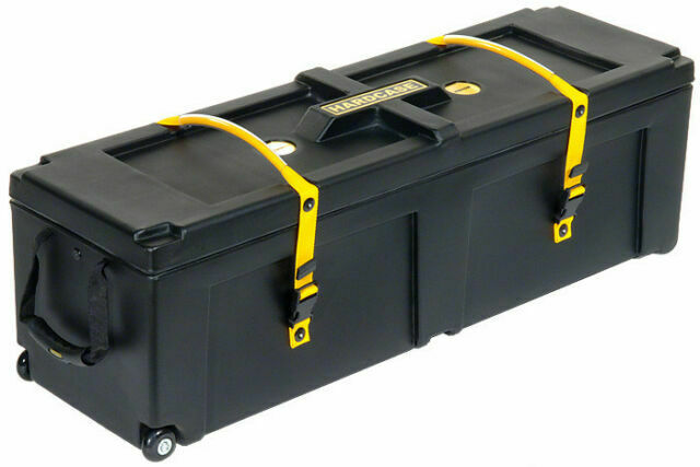Hardcase Hardware Case with Wheels 40x12x12in, Black