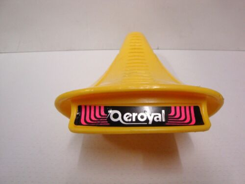 NOS SELLE ROYAL AEROYAL SADDLE SEAT BMX YELLOW 455gr MADE IN ITALY