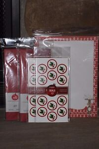 BE MERRY HOLIDAY COLLECTION WHIMSY REINDEER 80 STATIONERY 80 ENVELOPES 40 Seal