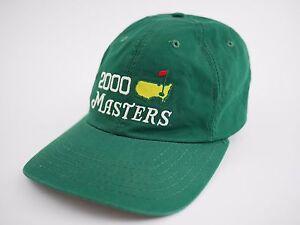 61a0c82f9e9 2000 MASTERS Golf Tournament GREEN Hat Cap- AUGUSTA GA - American ...