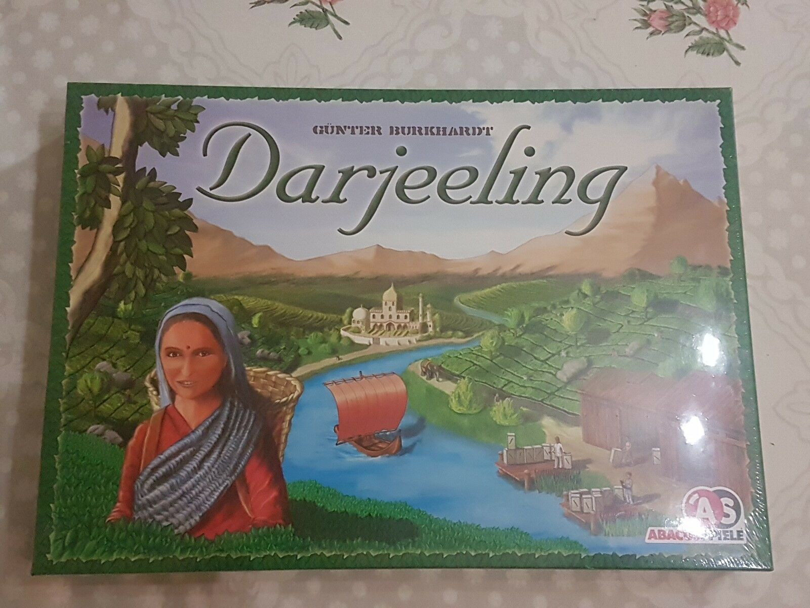 Darjeeling board game - new and sealed