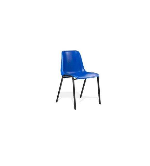 Stühle Formschalenstuhl Besucherstuhl 230056 Stapelbar Konferenzstuhl Blau BEedCoQrxW