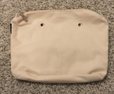 Original O Bag Mini Innentasche Natur - NEU