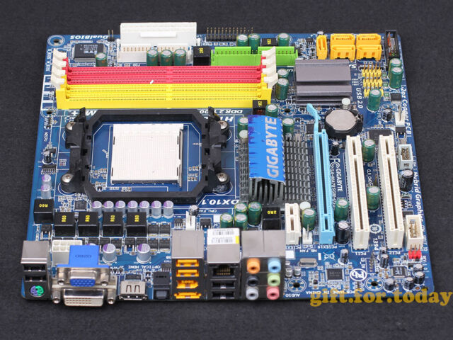 Original Gigabyte GA-MA785GM-US2H V1.0 AMD 785G Motherboard AM3 DDR2