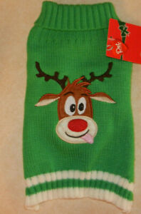 Pet-Central-Christmas-Dog-Sweater-Reindeer-Small