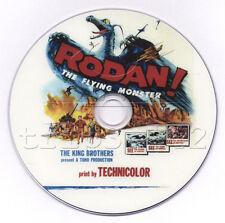 Rodan - The Flying Monster (1956) Classic Japanese Terror Movie DVD (Eng Dubbed)