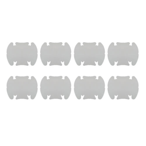 8pcs Universal Invisible Car Door Handle Scratches Protective Protector Films