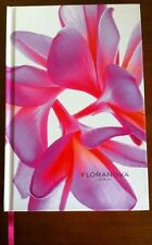 Floranova Journal with Frangipani Flowers Notebook Female Gift New