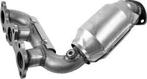 Toyota Highlander 3.3L Front BANK2 Manifold Catalytic Converter 2004-2007 OBDII Canada Preview