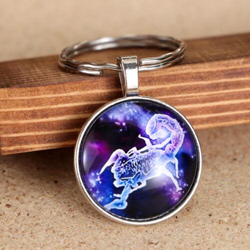 Scorpio Sagittarius Zodiac Pendant Horoscope Astrology  Constellation Keychain