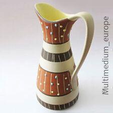 50er Jahre 50s Keramik Marzi und Remy Vase in Kännchen Form Höhr-Grenzhausen