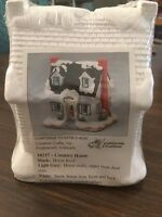 California Creations - Country Home, 10217, Holiday Christmas Village – Nip