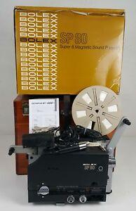 CINEMA-PROJECTEUR-EN-STEREO-SP-80-BOLEX-BOITE-D-039-ORIGINE-1974