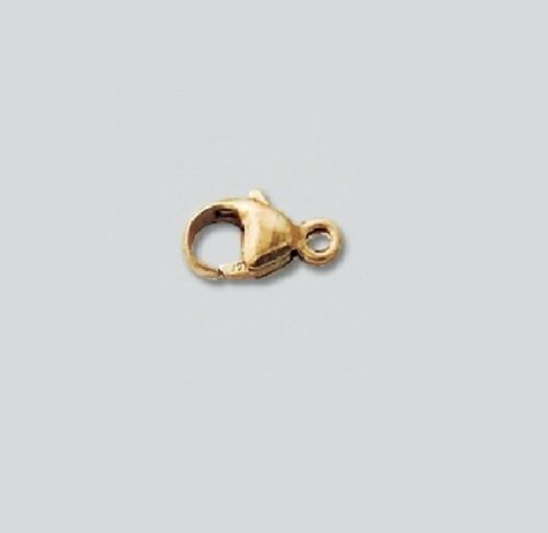 14k GOLD FILLED Oval Lobster Clasp 9 MM Pkg. Of 4
