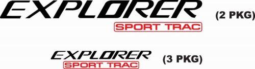 Explorer Sport Trac Decal Sticker