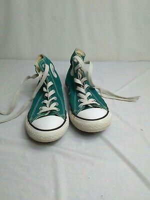 Converse 3 Youth shoes high tops green