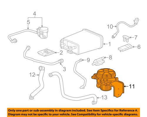 GM OEM Vapor Canister-A.i.r Pump 15928252