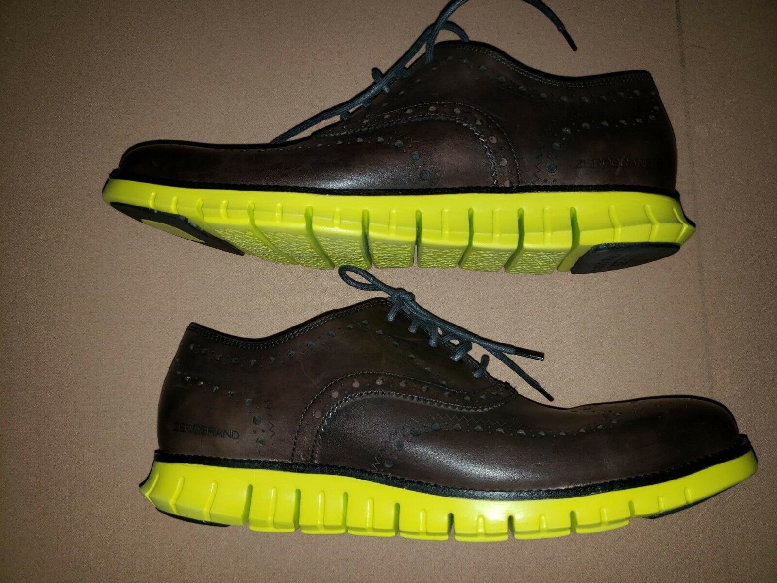 Cole Haan Zerogrand Wingtip Brogue Oxford chaussures Taille 11.5  MODEL C20061