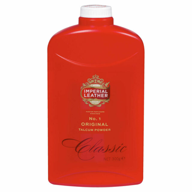IMPERIAL LEATHER ORIGINAL TALCUM POWDER CLASSIC 300G