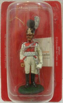 """Soldatini Napoleonici In Piombo """"capitano, 1° Dragoni, 1806-11"""" Mm. 54 Lasciamo Che Le Nostre Merci Vadano Al Mondo"""