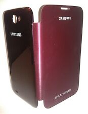 Samsung Galaxy Note 2 II Red Flip Protective Cover Case Original