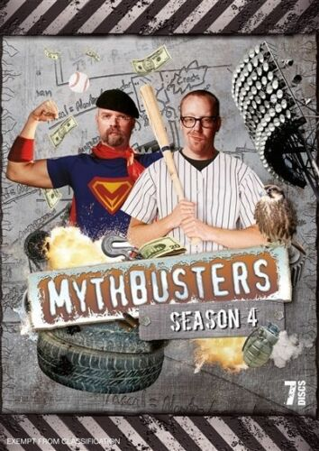 1 of 1 - Mythbusters: Season 4 (DVD, 2009, 7-Disc Set), NEW REGION 4