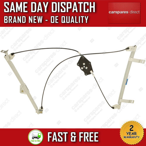 FOR PEUGEOT 307 CC 2009/>2014 FRONT RIGHT DRIVER SIDE ELECTRIC WINDOW REGULATOR