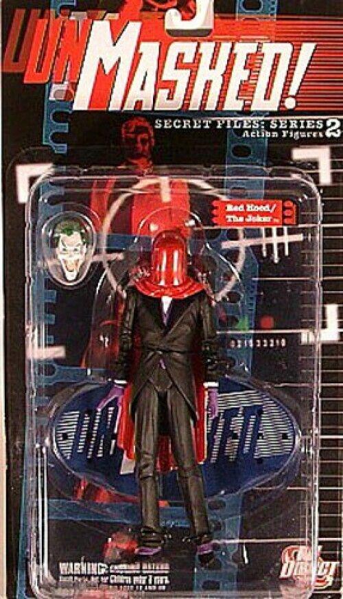 Batman Secret Files Series 2 Unmasked Red Hood   The Joker Action Figure