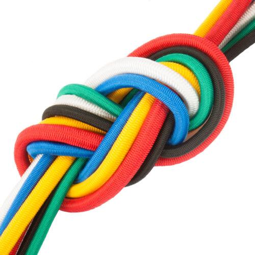 4mm - 12mm CORDA ELASTICO vela filo cavi flessibili cavo cordone sport