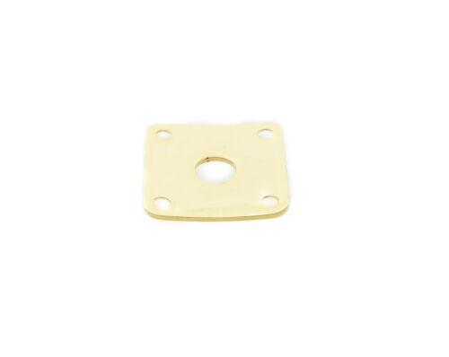 Curved Metall Jack Plate Platz Jackplate w//Schrauben Passend für Gibson Les Paul