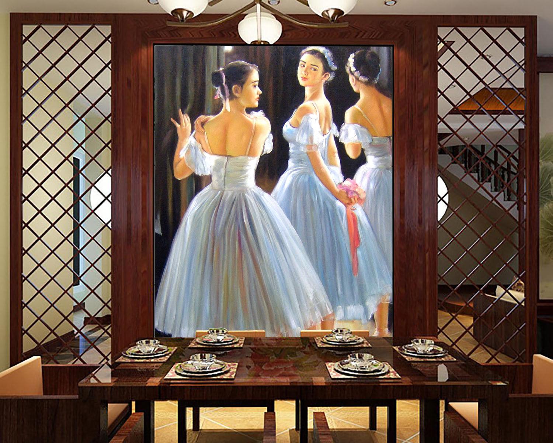 3D Ballet Girls Girls Girls 76  Wall Paper Murals Wall Print Wall Wallpaper Mural AU Kyra e833ab