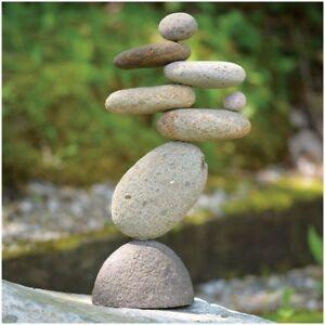 Balancing Rock Cairn Stacked Zen Garden Yard Art Sculpture 8