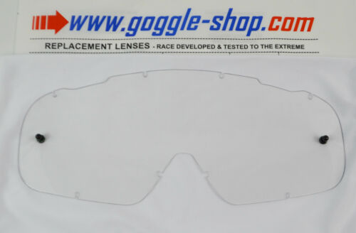 GOGGLE-SHOP REPLACEMENT LENS for FOX AIRSPEC MOTOCROSS MX GOGGLES CLEAR NEW