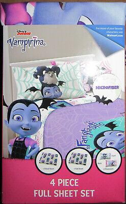 Disney Junior Vampirina 4-Piece Full Sheet Set ...
