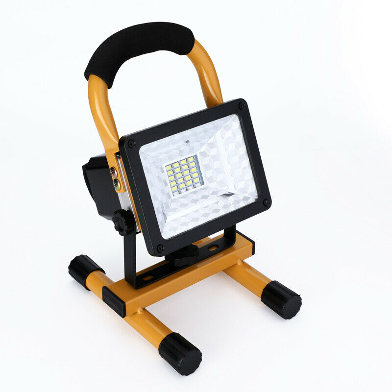 100000LM COB LED Work Light Rechargeable Emergency Stand Ultra Bright Flood Lamp