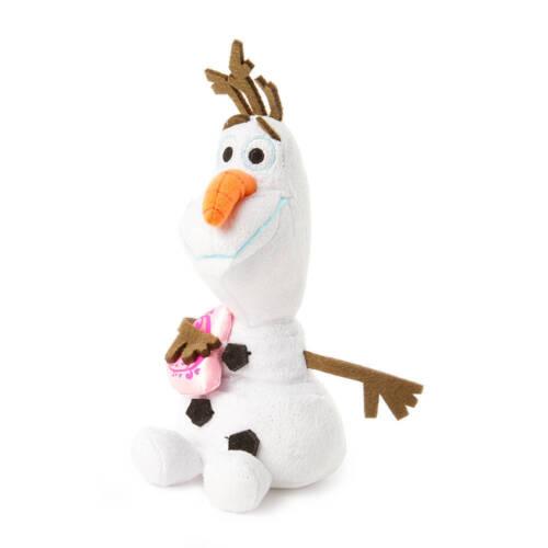 Ty Beanie Babies Disney Frozen Olaf Snowman with Pink Heart Elsa Anna NWT