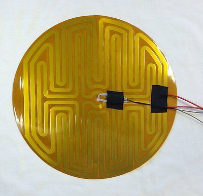 Parts & Accessories 3d Printers & Supplies Amicable 240mm 12v Round Kapton Heater Thermistor Diy 3d Printer Us Shipping
