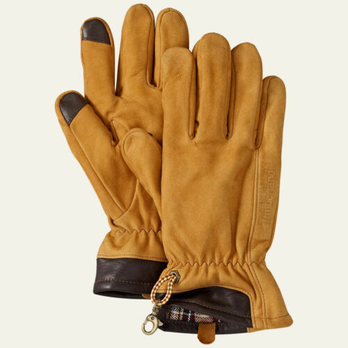 Timberland MENS ESSENTIAL LEATHER GLOVES STYLE T100495C-991// 243 SIZE L MSRP $58