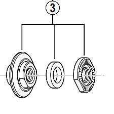 Shimano-HB-4500-lock-nut-unit