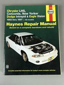 haynes repair manual 25025 chrysler lhs concorde new yorker rh ebay com 2004 dodge intrepid repair manual pdf 2000 dodge intrepid repair manual download