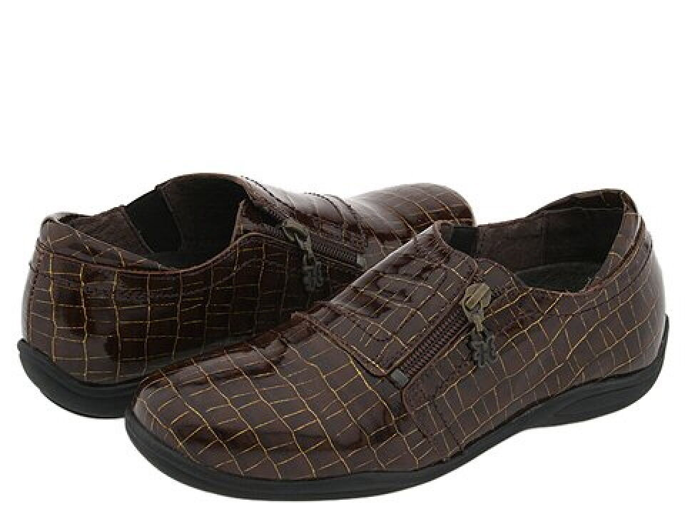 Helle Comfort Irene shoes Brown Brown Brown Patent 36 5.5 9e9a6b