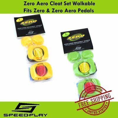 Speedplay Zero Aero Walkable Cleat Fits Zero /& Zero Aero Pedals Yellow//Green