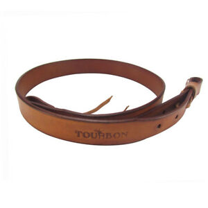 Tourbon-36-034-Genuine-Leather-Shotgun-Sling-Gun-Strap-Vintage-Shooting-US-Delivery