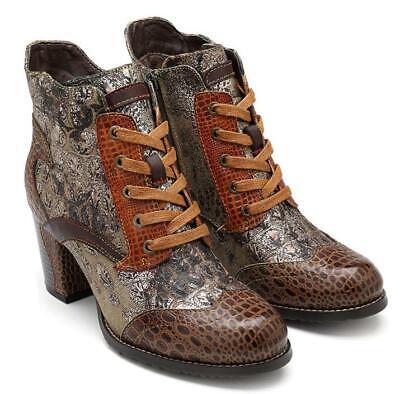 SOCOFY Desert Genuine Leather Ankle