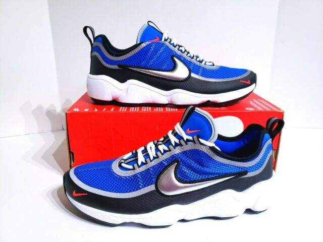 Nike Air Zoom Sprdn Spiridon Regal Blue Metallic Silver 876267 400 Mens Size 8