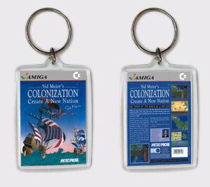 SûR Sid Meier's Colonization Commodore Amiga Llavero Keyring