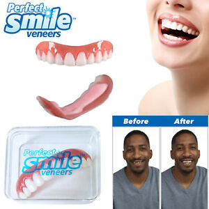 Perfect Smile Veneers Instant Cosmetic Teeth Cover Fix Snap On One Size Fits All 5060401359805