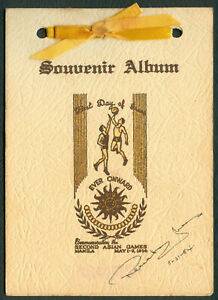 1954-Philippines-Commemorating-the-2nd-ASIAN-GAMES-MANILA-Souvenir-Album-FDI