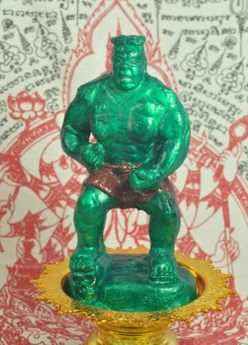 Giant Hoon PAYON KING OF THE WORLD Powerful Voodoo OCCULT Thai amulet Protection