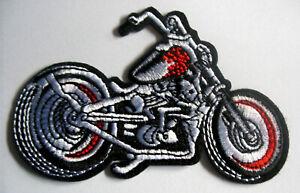 Chopper-Motorrad-Aufnaeher-Patch-Biker